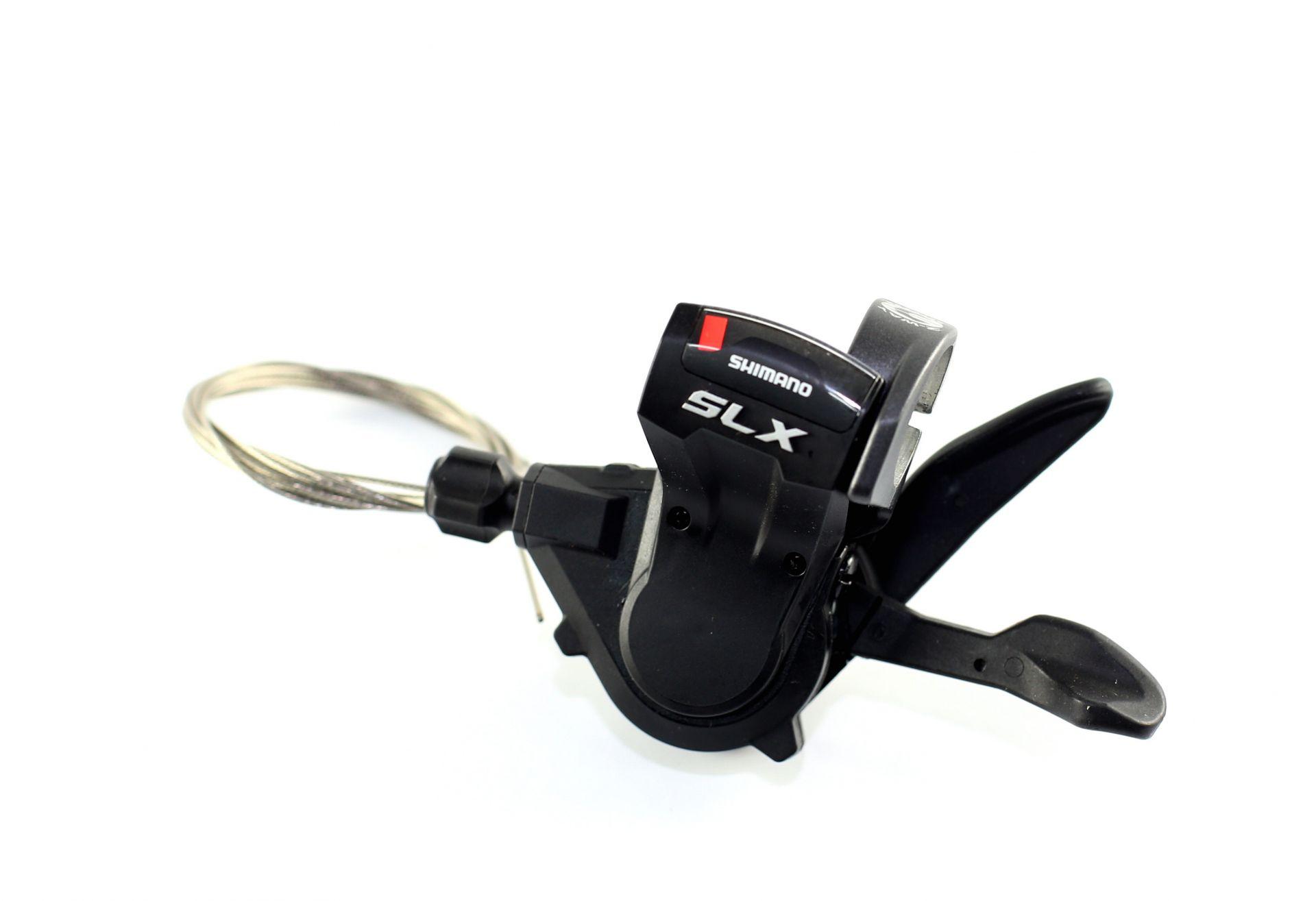 Manette Shimano SLX M670 3V gauche Noir