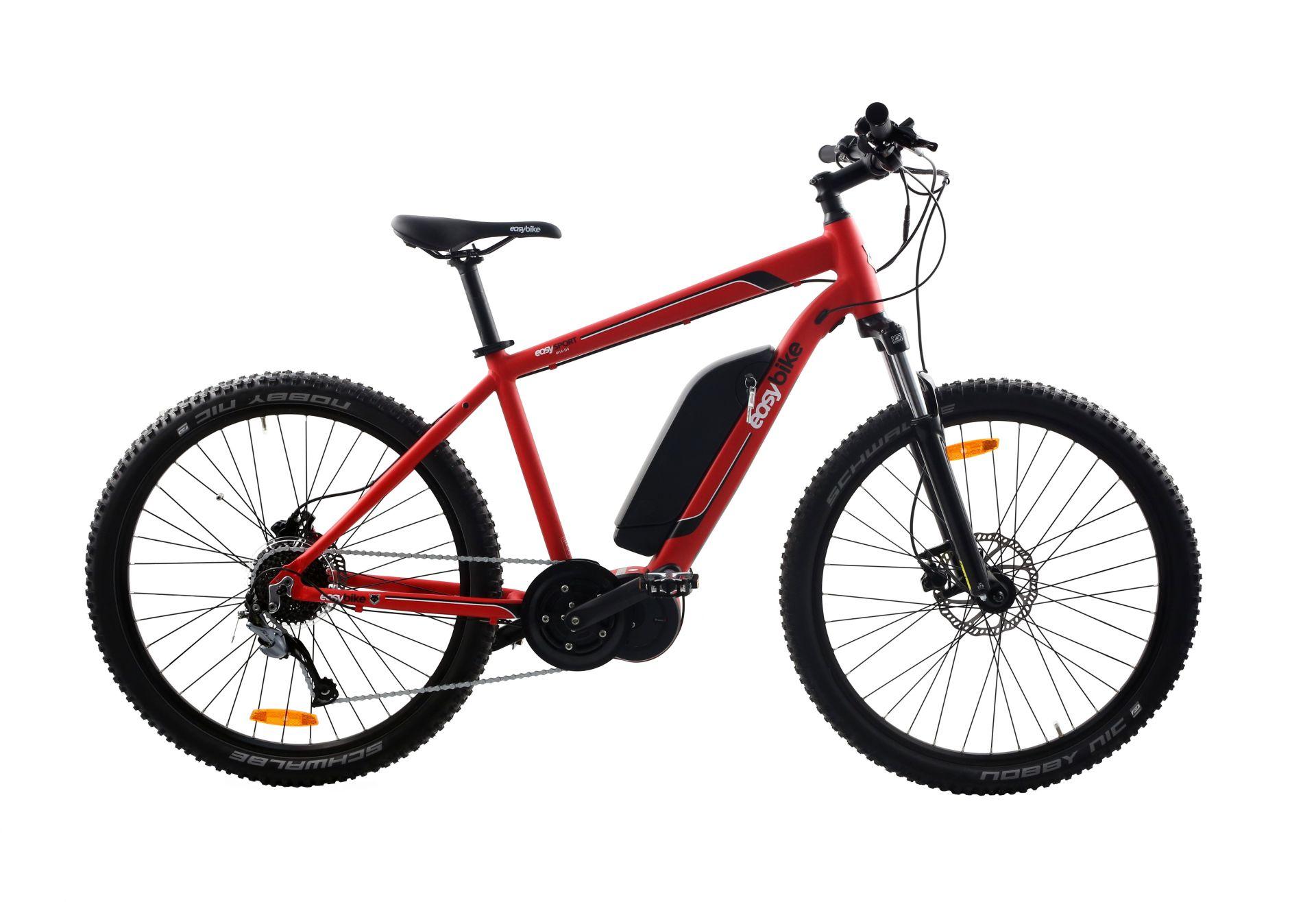 VTT électrique Easybike EasySport 27.5 M16-D9 Rouge