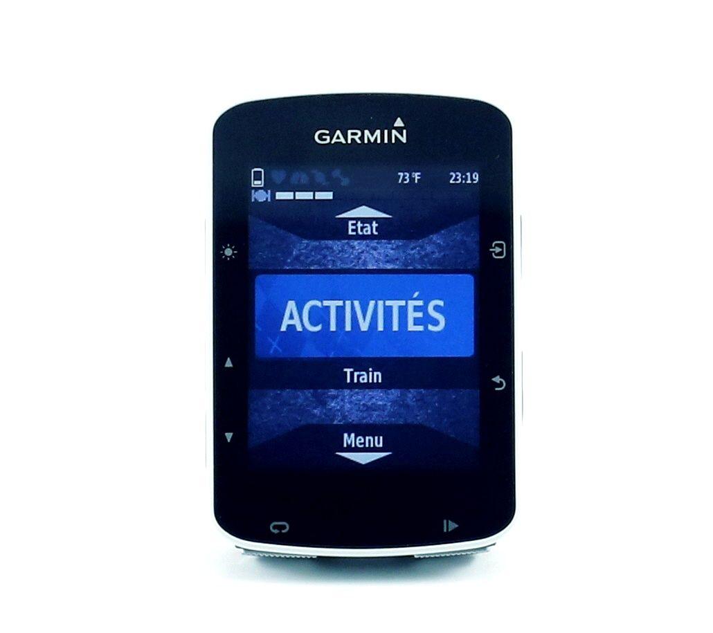 Compteur de vélo GPS Garmin Edge 520 Bundle HRM