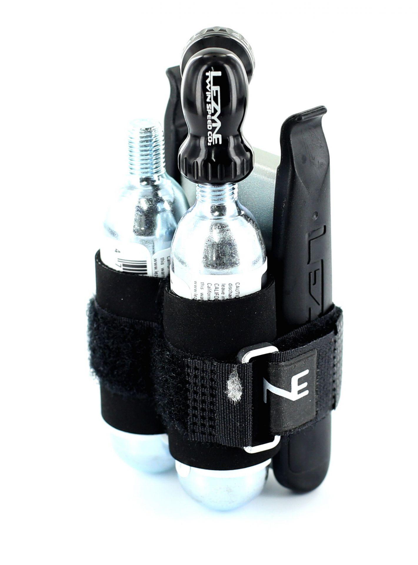 Twin Kit Lezyne 2 cartouches CO2 et pièces réparation