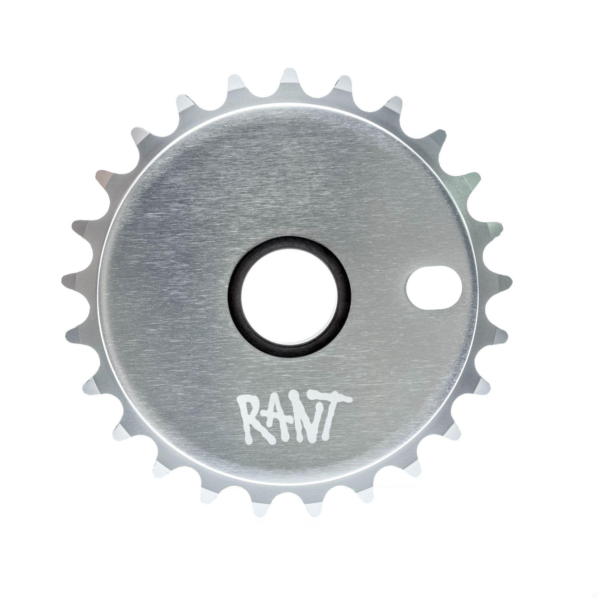 Couronne BMX Rant Stick'Em Sprocket 25 dts Argent