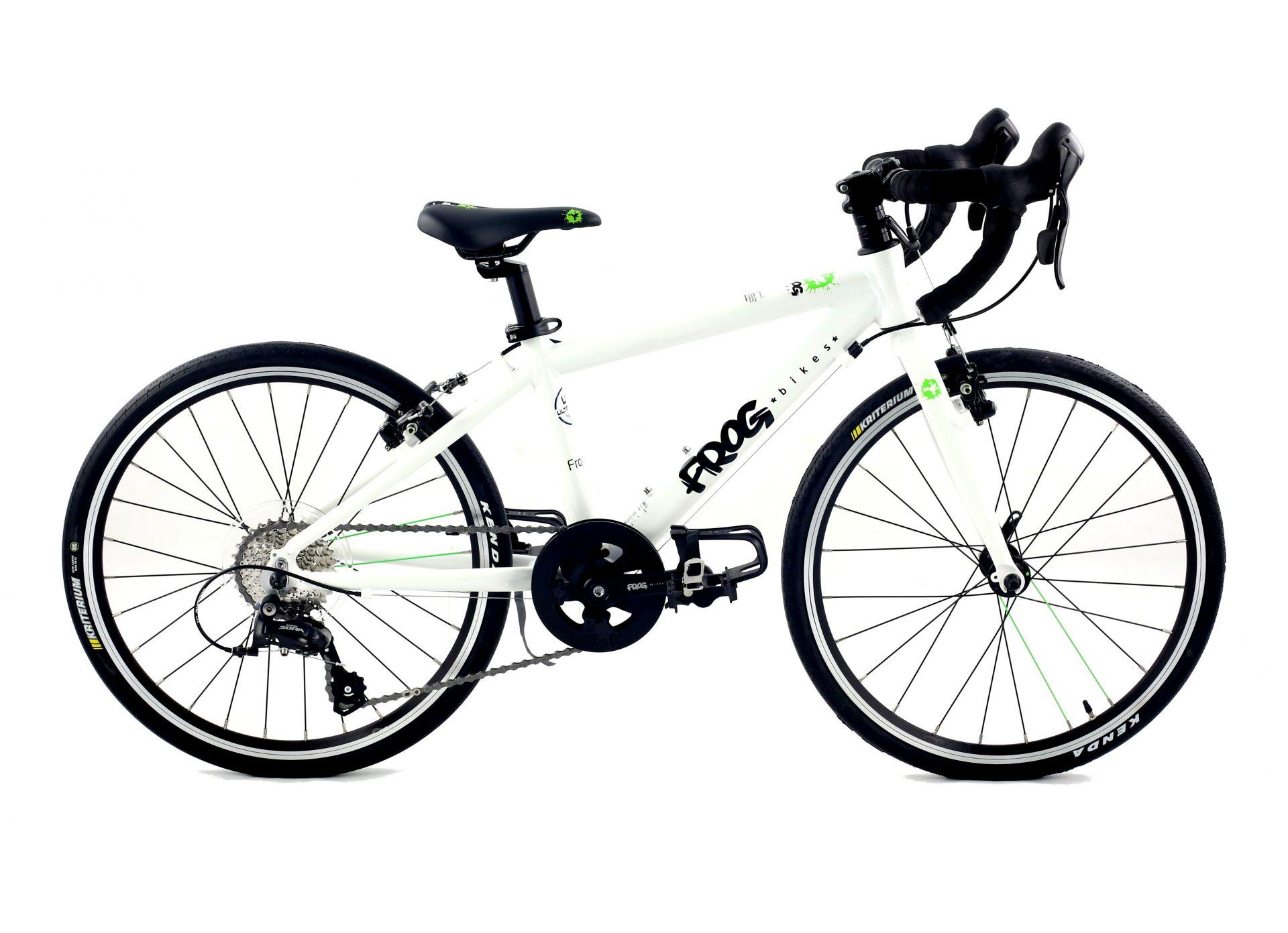 Vélo route enfant Frog Bikes Road 58 Blanc