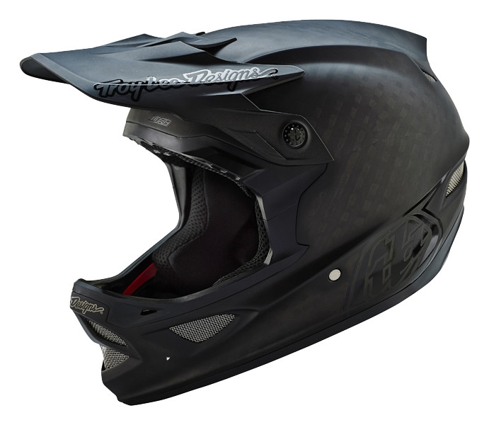 Casque Troy Lee Designs D3 Carbon Midnight Noir - L