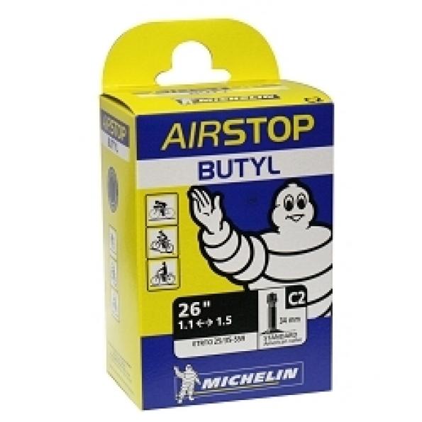 Chambre à air 26 x 1.10/1.50 Michelin C2 Schrader 36 mm