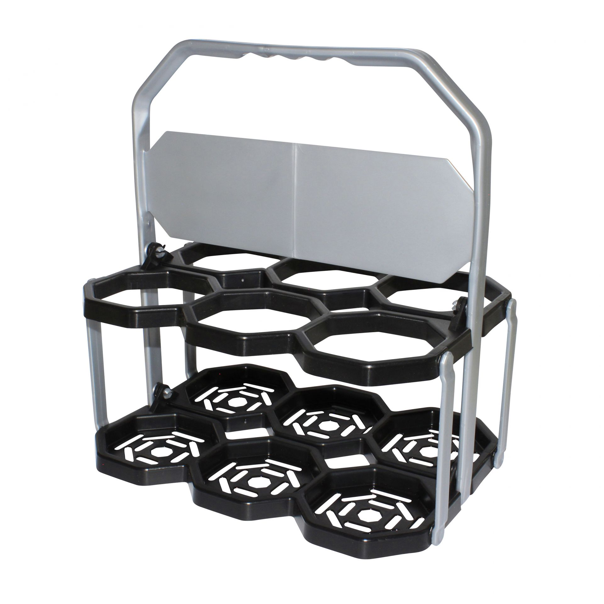Panier Roto Pliable pour transport de 6 bidons
