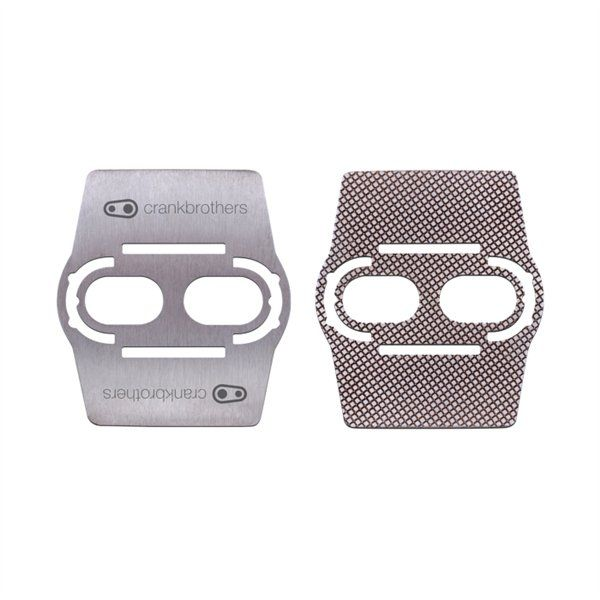 Sous-cale crankbrothers Shoe Shields Inox (x2)