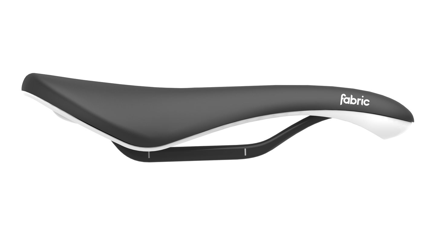 Selle Fabric Scoop Radius Pro Noir/Blanc