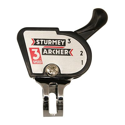 Manette de vitesses Sturmey Archer classic 3V droite