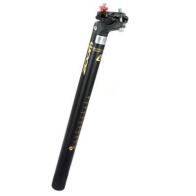 Tige de selle VTT Zoom Alu D.27,2 mm L.350 mm Noir mat