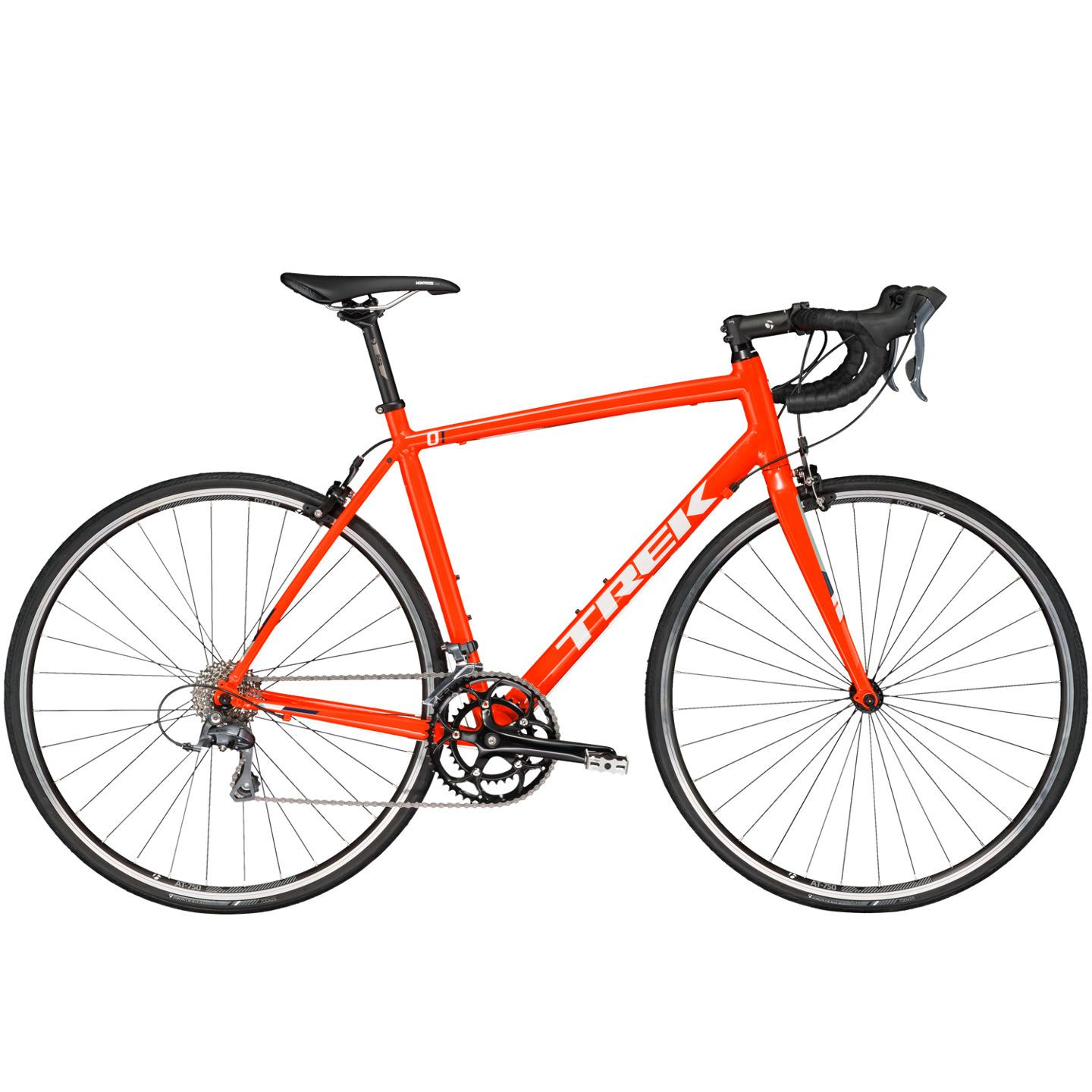 Vélo de route Trek 1.1 C H2 Orange - 47 cm