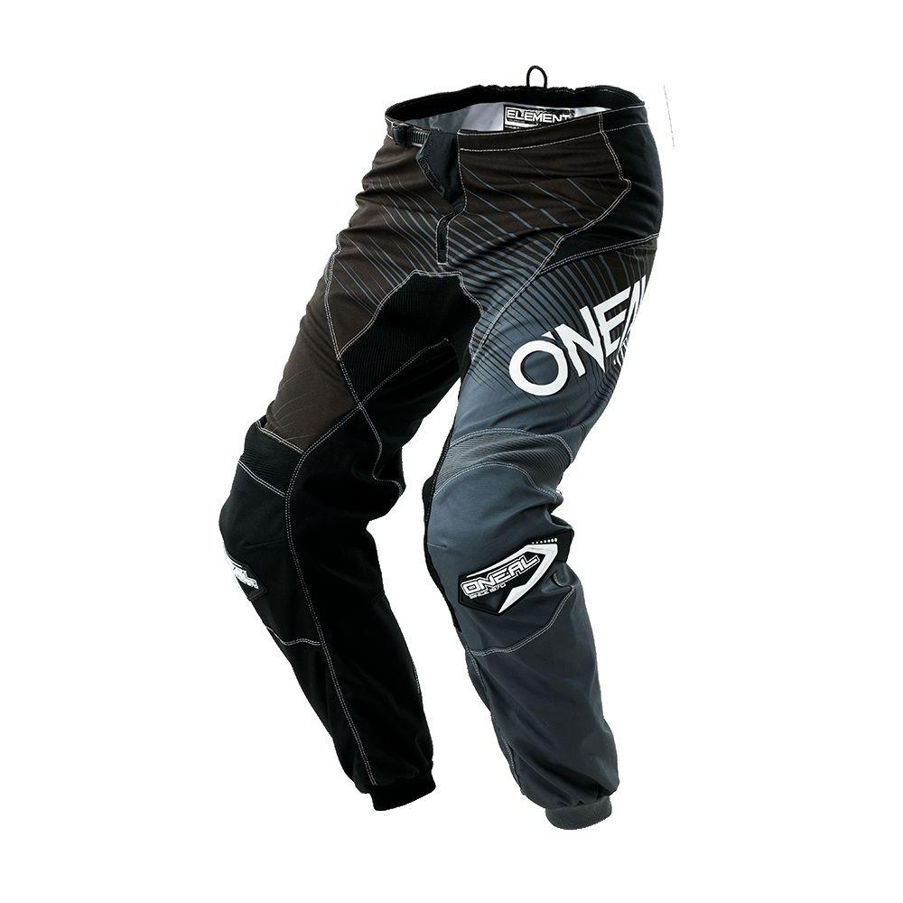 Pantalon O'Neal Element Racewear Enfant Noir/Gris - 22