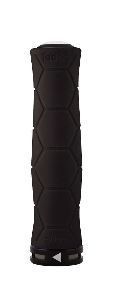 Poignées Fabric Semi Ergo Silicone lock-on Grips Noir