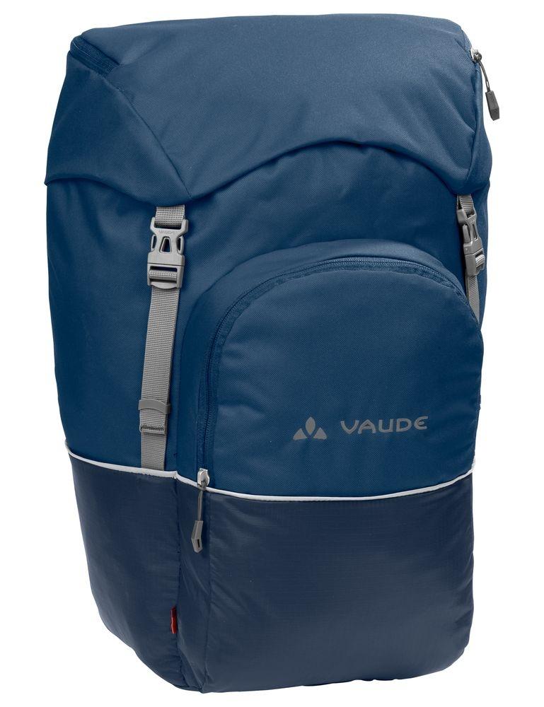 Sacoche arrière Vaude Road Master Back 2x25 L Bleu Marine