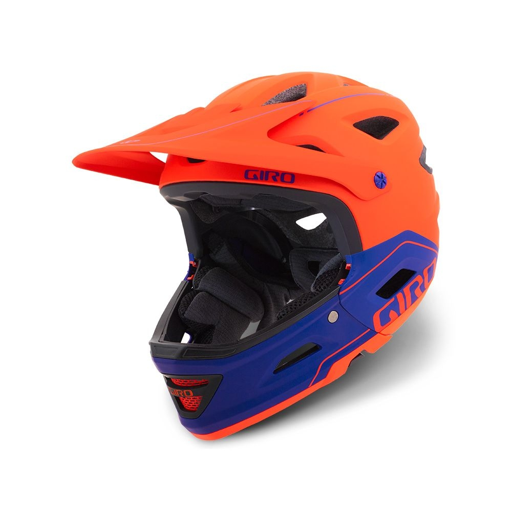 Casque Giro SWITCHBLADE MIPS Rouge mat/Violet - 55/59 cm