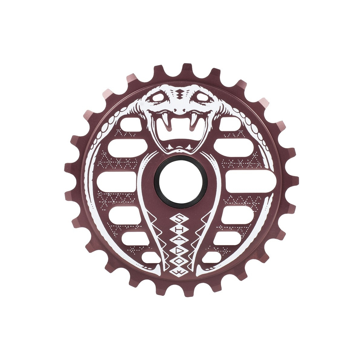 Couronne BMX TSC Kobra Sprocket 28 dts Purple Livid