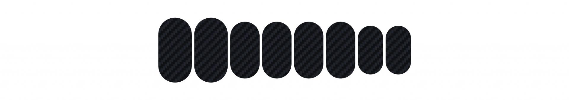 Protections de cadre Lizard Skins adhésives Kit Carbon 3K