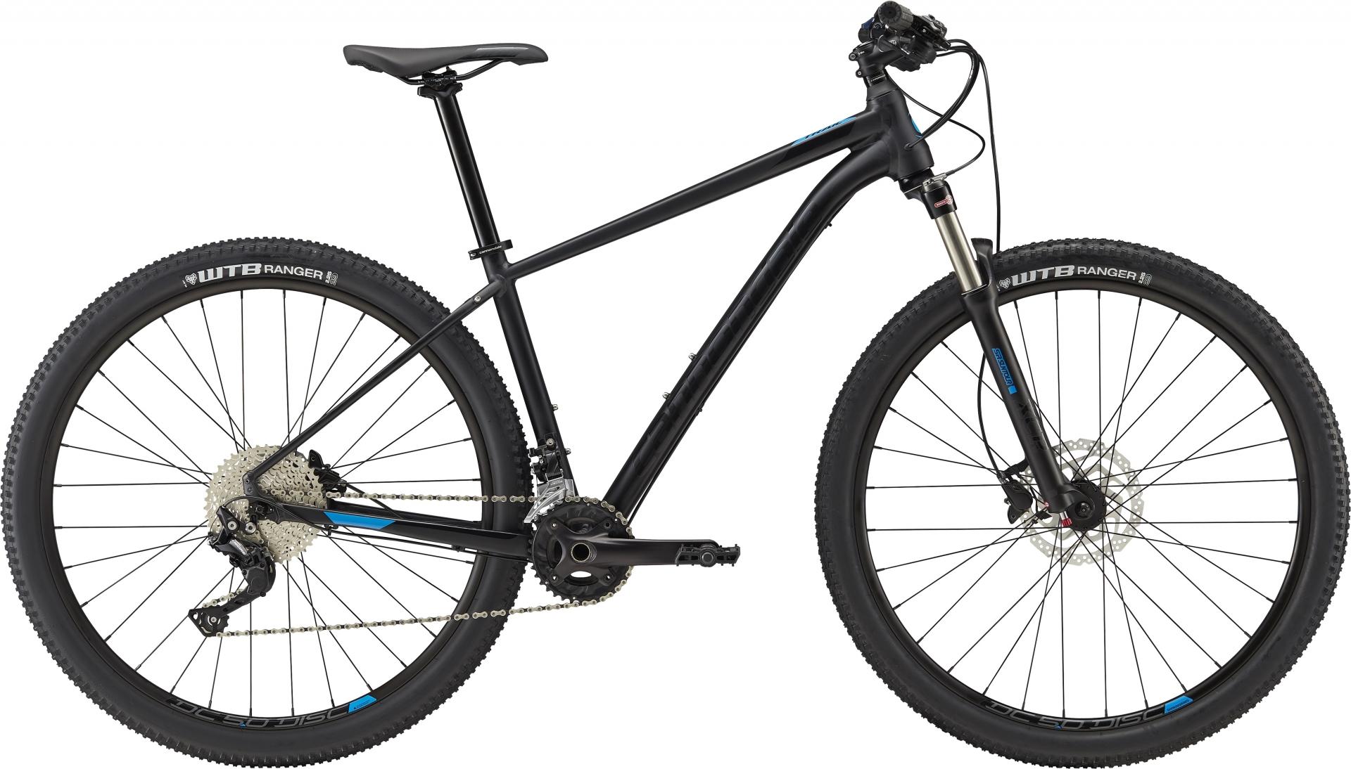 VTT Cannondale Trail 5 27.5/29 Noir/Bleu - M / 29