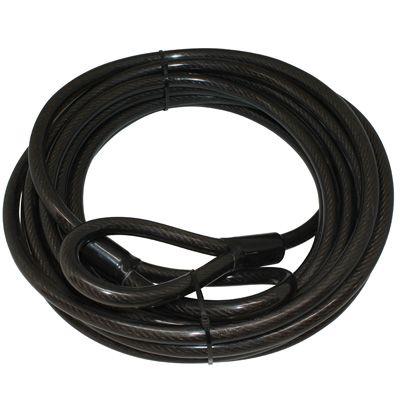 Antivol vélo câble à boucles Renforcé 15 mm x 10 m