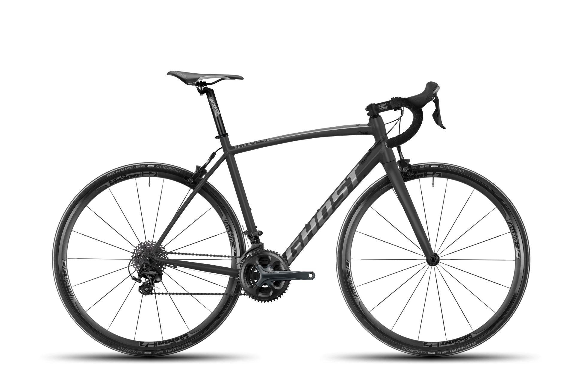 Vélo de route Ghost Nivolet 2 AL Titanium/Noir - XS