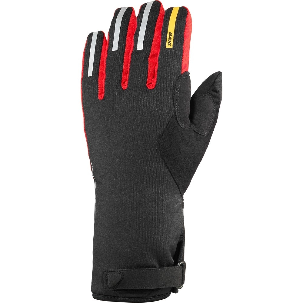 Gants longs Mavic Ksyrium Pro Thermo Noir/Rouge Bright - XL