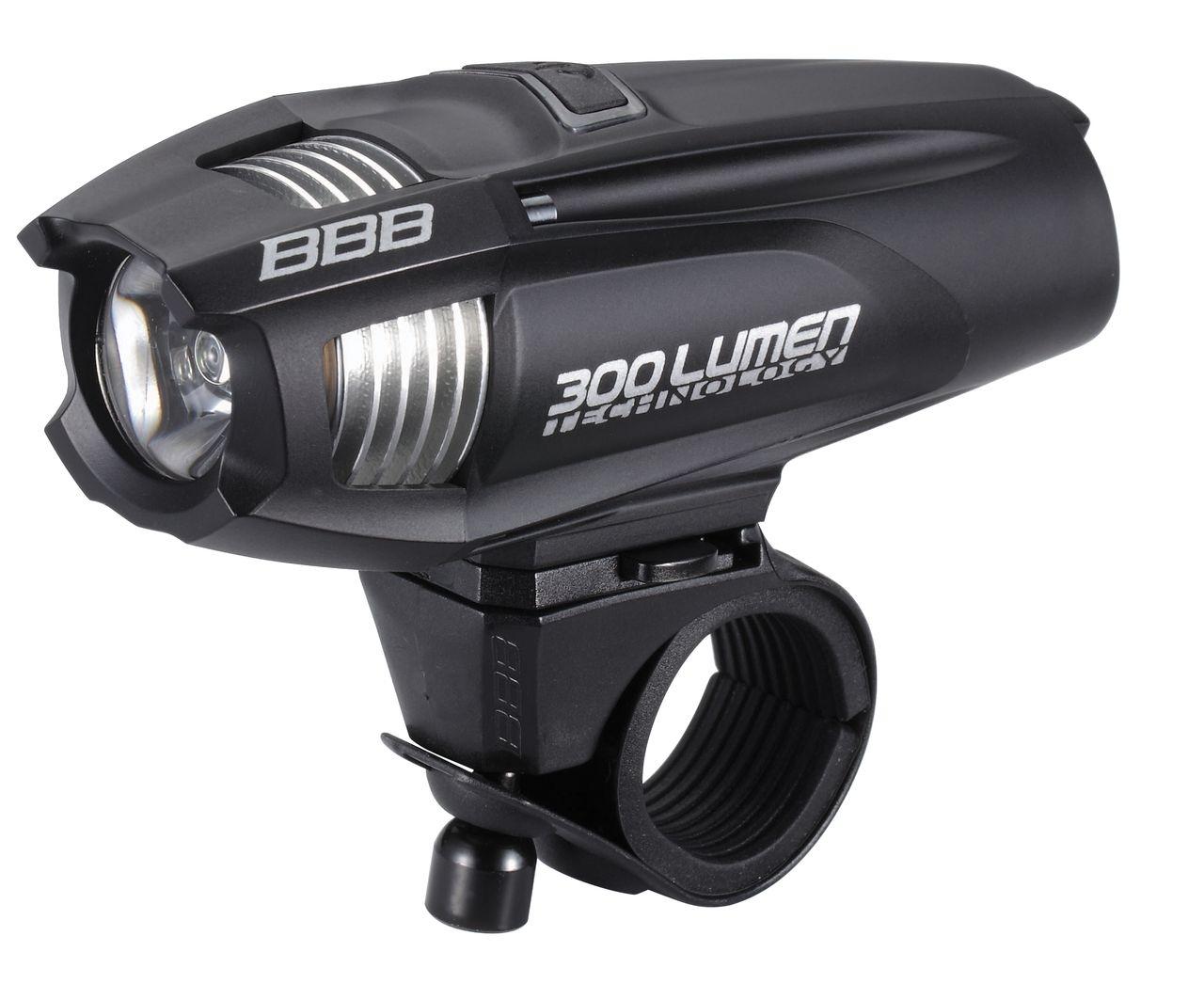 Éclairage AV BBB Strike 300 lumen LED (noir) - BLS-71