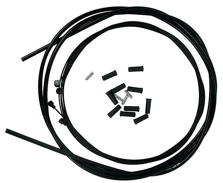 Kit câbles et gaine de frein Transfil K.ble Black Snake Teflon Noir
