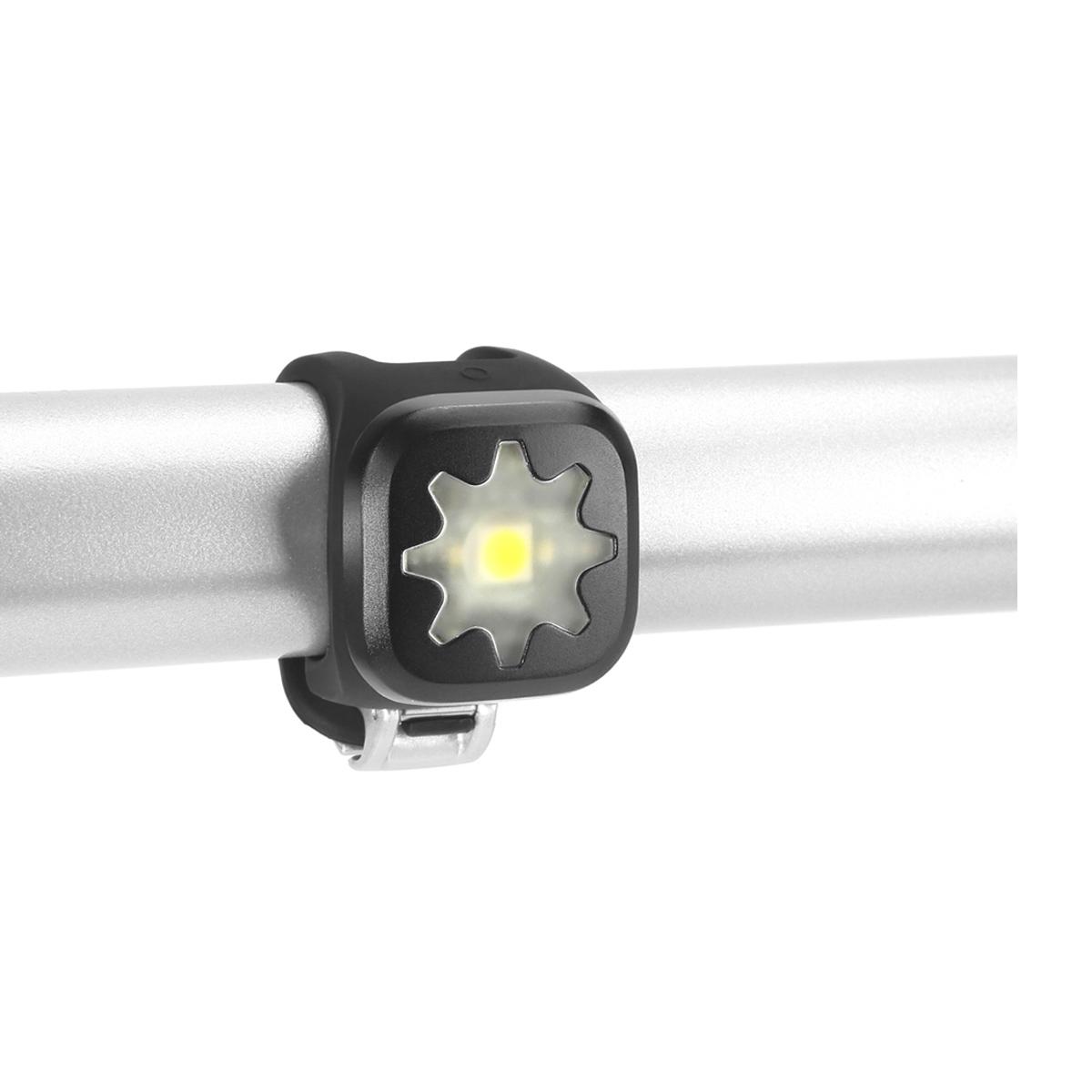 Éclairage arrière Knog Blinder Crâne 1 LED - Noir