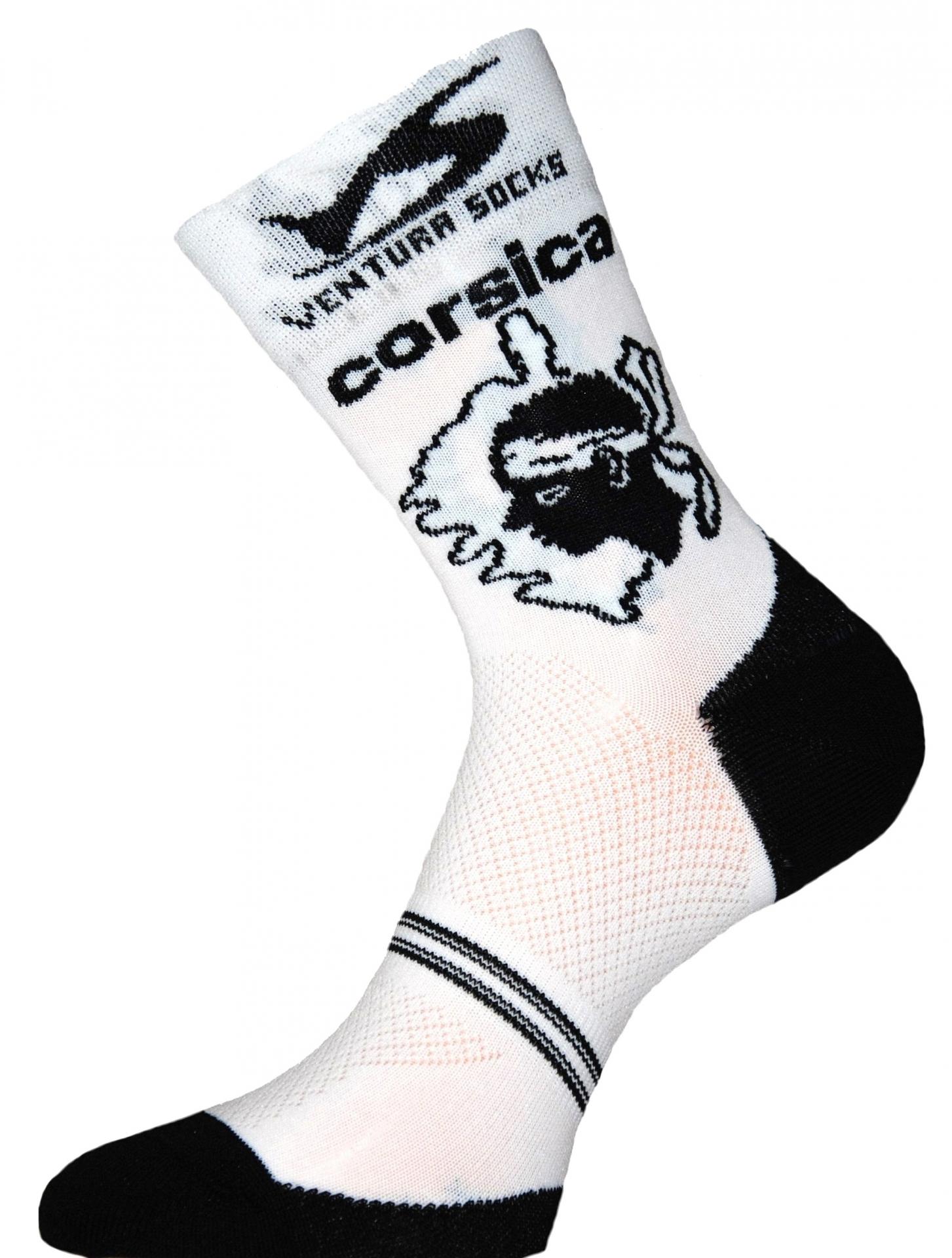Chaussettes Ventura Socks Carbone Région Corse - 39/42