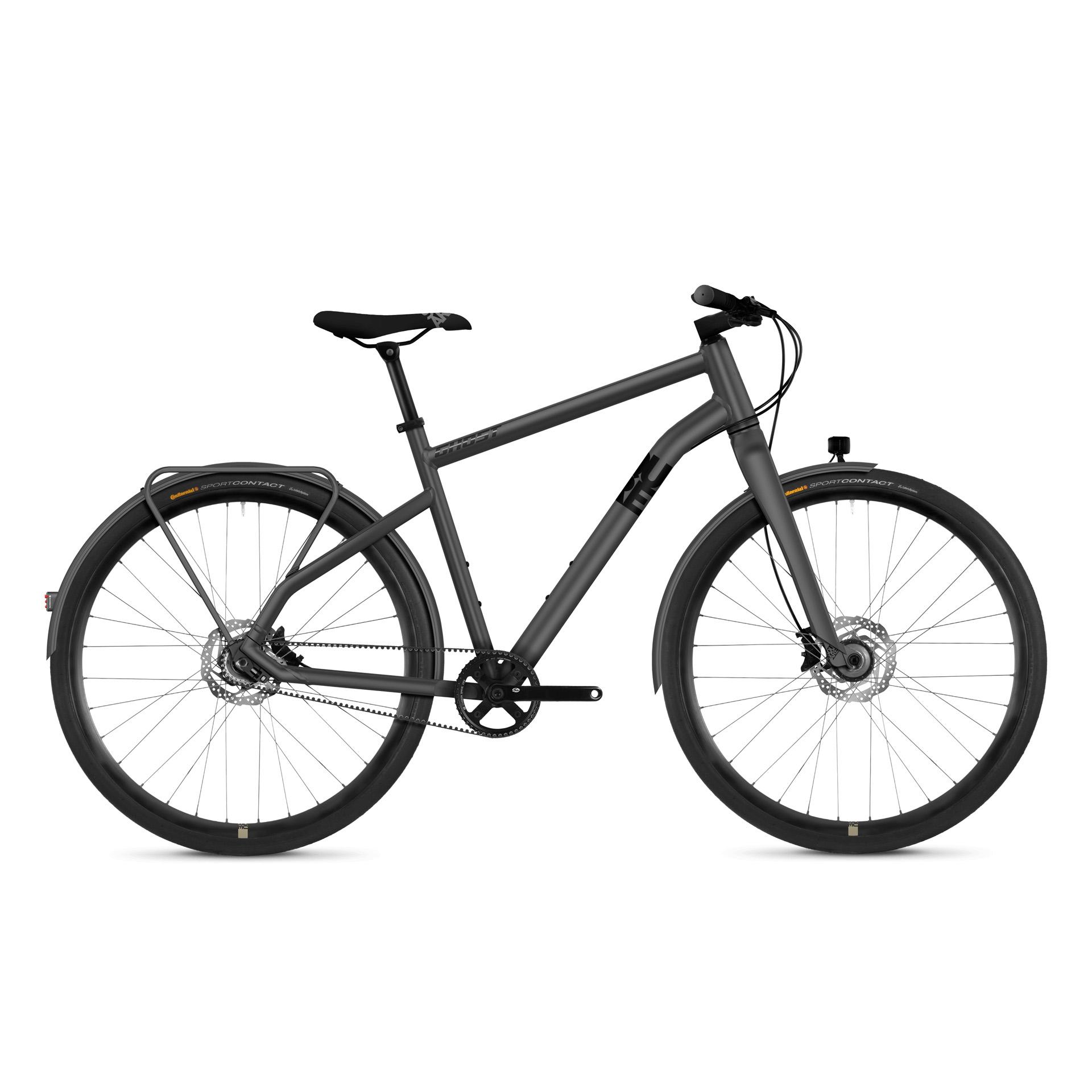 Vélo urbain Ghost Square X 7.8 AL Gris - M