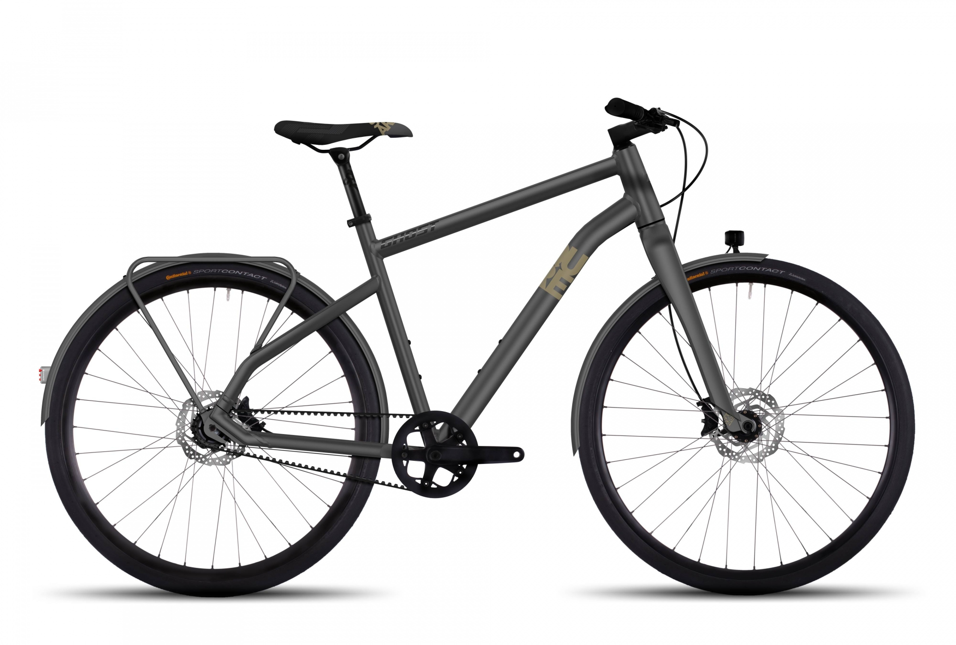 Vélo Ghost Square Urban X 7 Gris - M