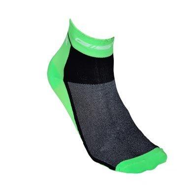 Chaussettes GIST Coton 10 Vert/Noir - 36/39