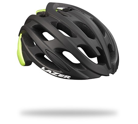 Casque Lazer Blade Mat Black Flash Yellow - M (55-59)