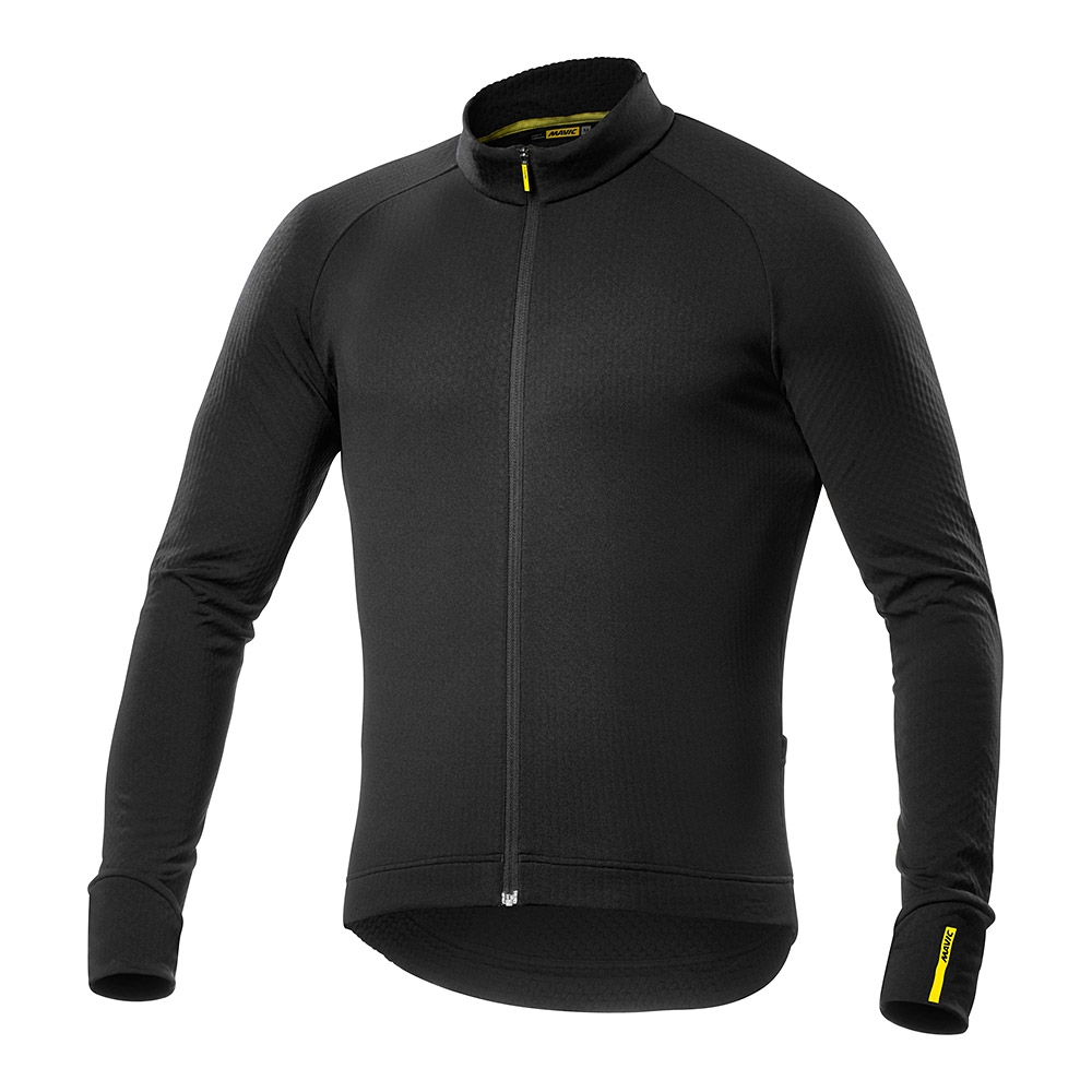 Maillot Mavic manches longues Aksium Thermo Noir - M