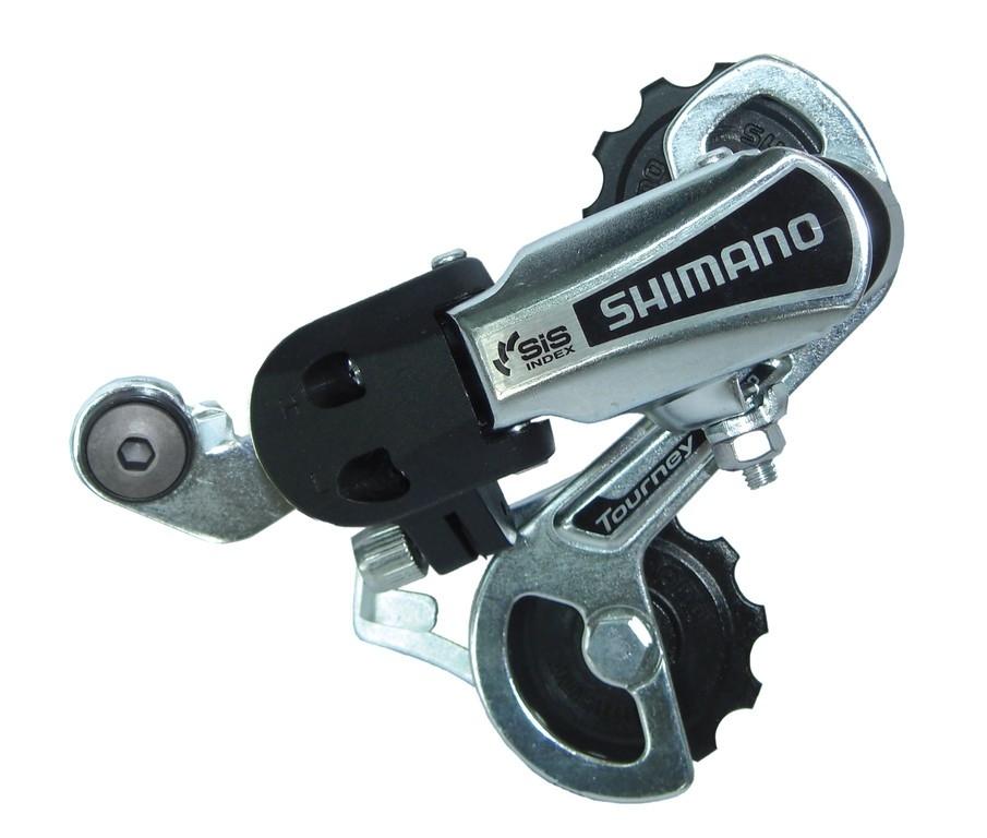 Dérailleur arrière Shimano Tourney TY 21 6V chape courte