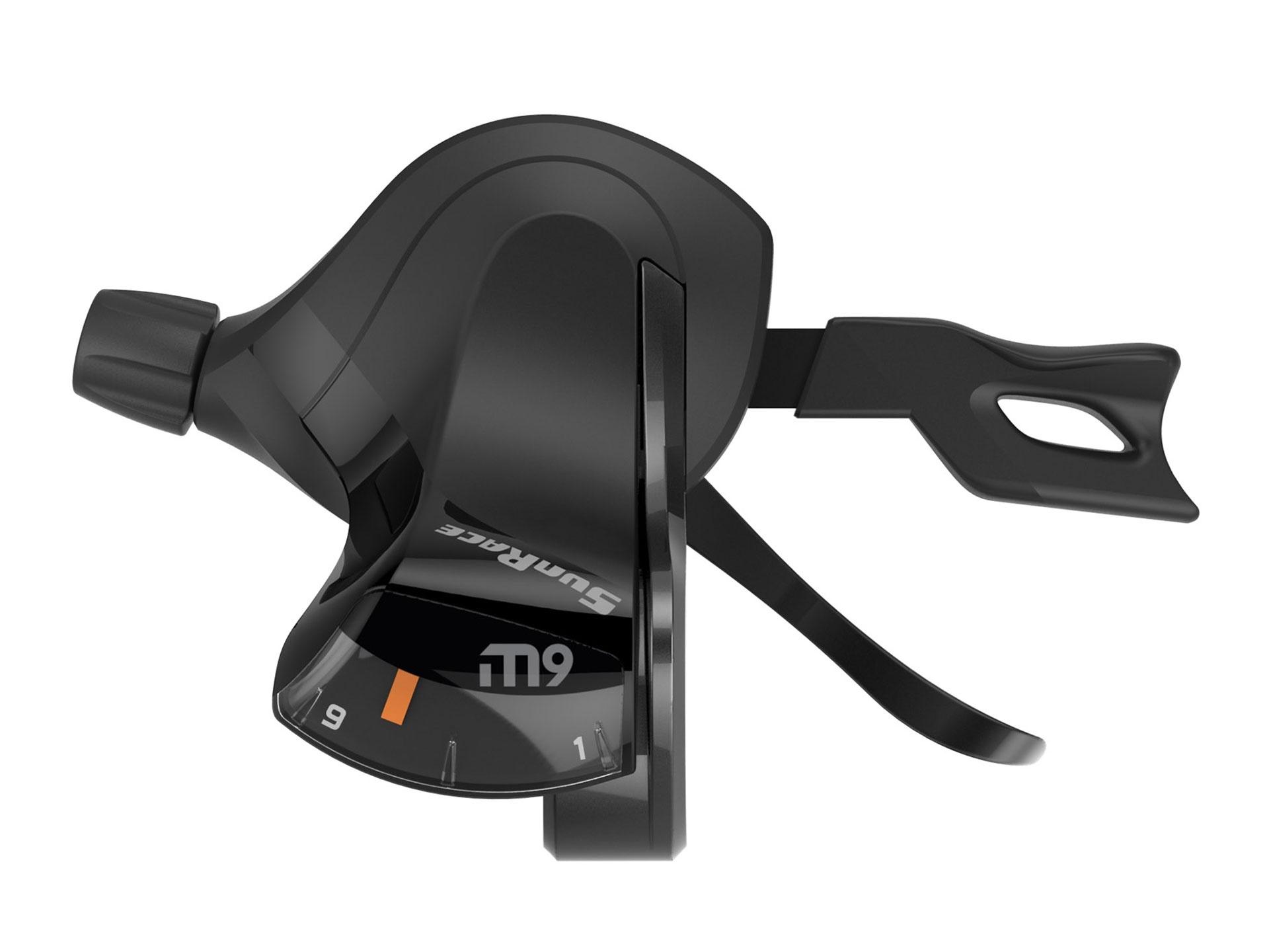 Manette Trigger SunRace DLM930 9 vitesses Droite Noir