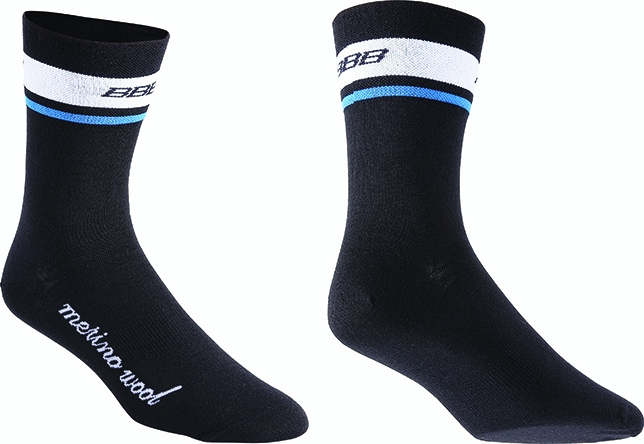 Chaussettes hiver BBB MerinoFeet Noir - BSO-12 - 39-43