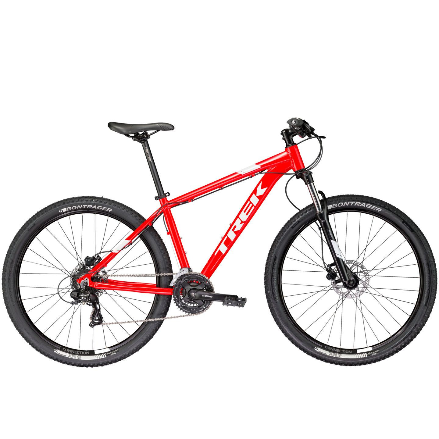 VTT semi-rigide Trek Marlin 6 Rouge 2017 - 15.5\