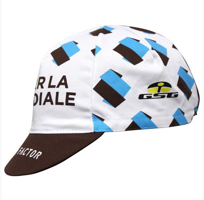 Casquette Equipe AG2R La Mondiale Blanc/Marron