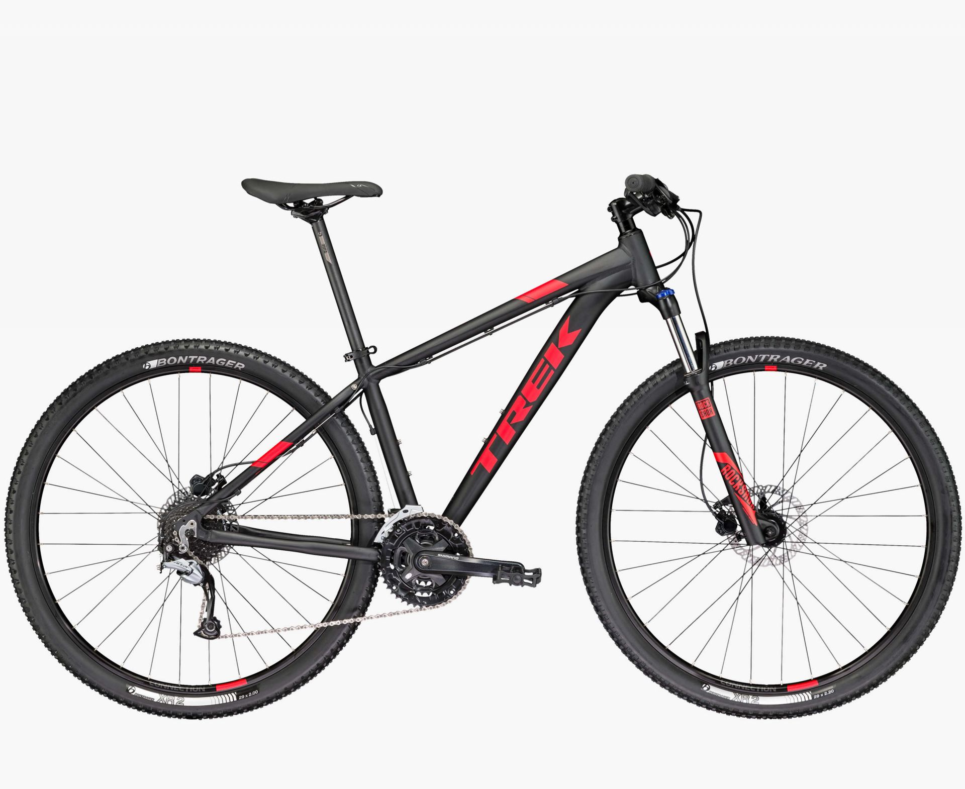 VTT semi-rigide Trek Marlin 7 Noir 2017 - 17.5\