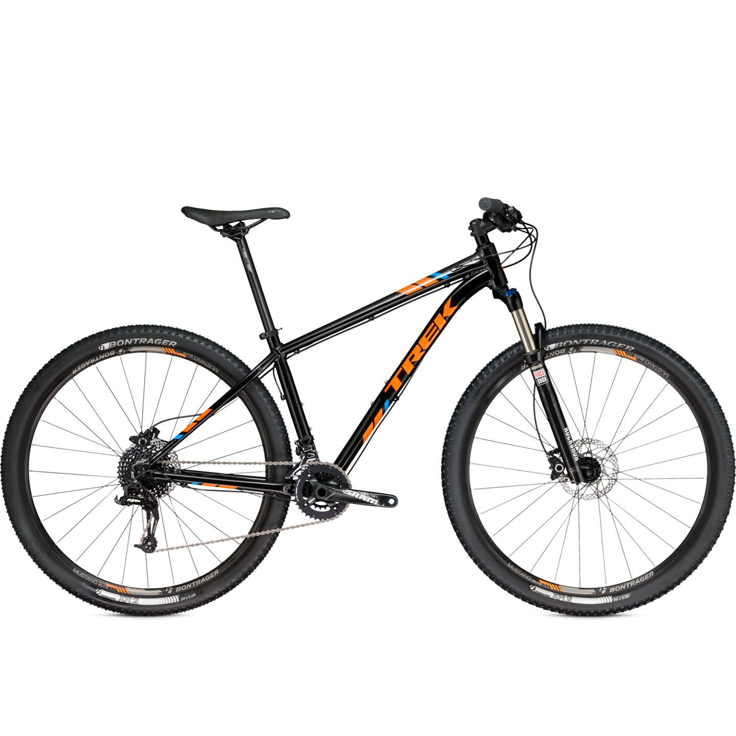 VTT semi-rigide Trek X-Caliber 8 Noir/Orange 2017 - 17.5\