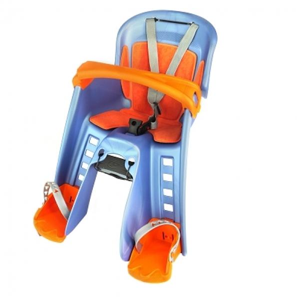 Porte-bébé avant Polisport Bilby Bleu/Orange