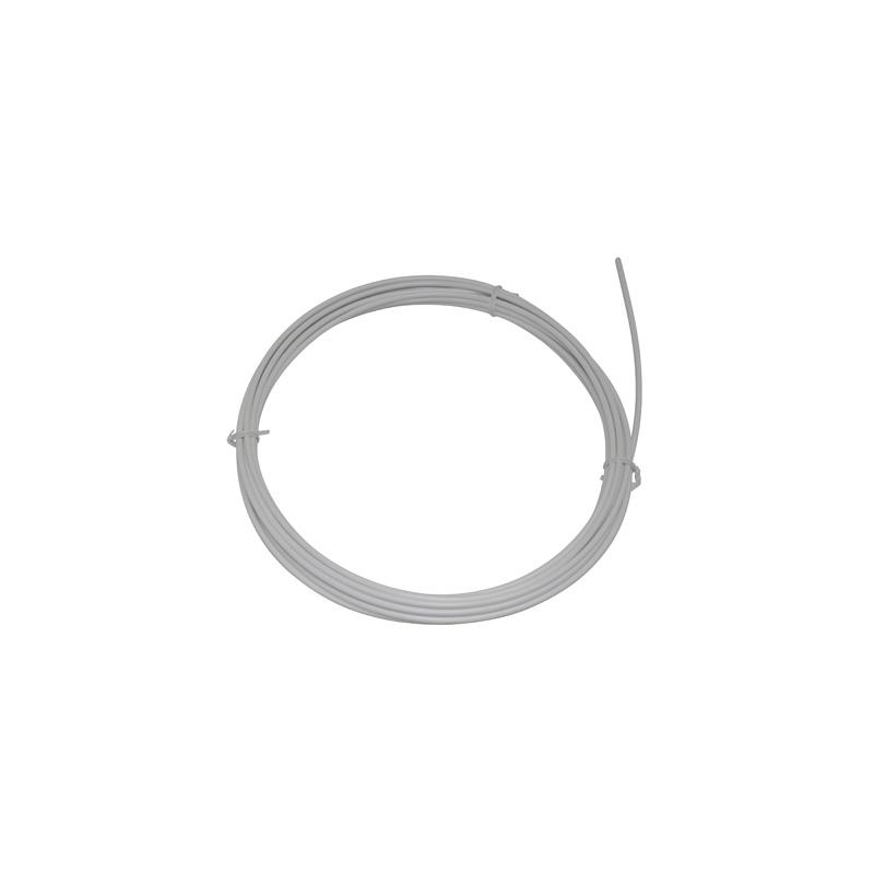 Gaine de frein Ashima Action avec liner teflon 5 mm (Rouleau de 7,50 m) Blanc