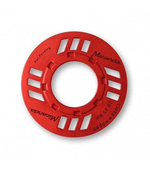 Guide-chaîne Miranda E-Chainguard Nut p. transmission Bosch Rouge