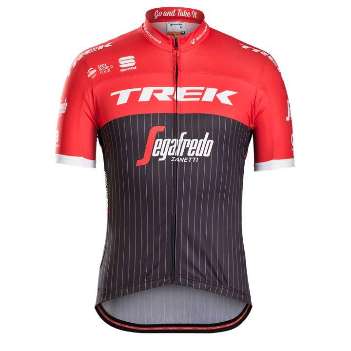 Maillot Sportful Team Trek Segafredo Noir/Rouge - M