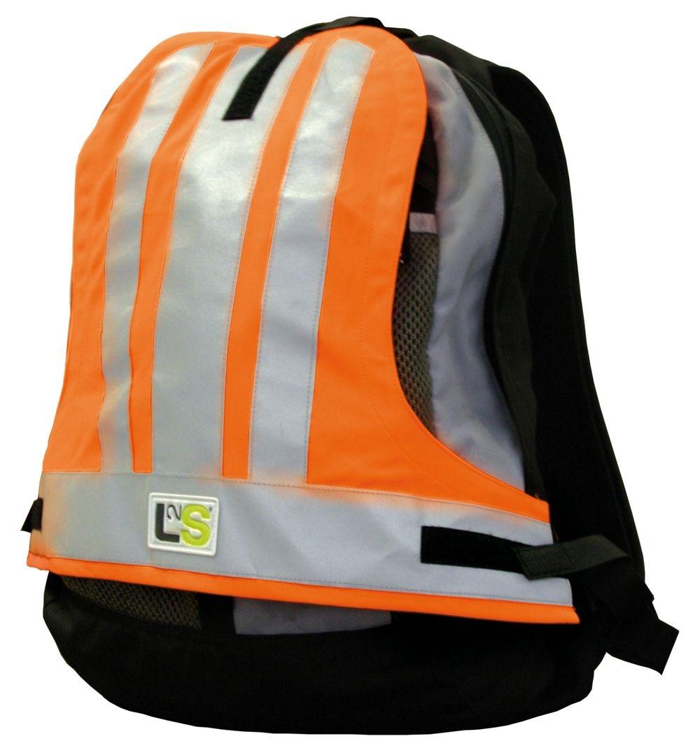 Couvre-sac sécurité L2S Visiobag Orange fluorescent