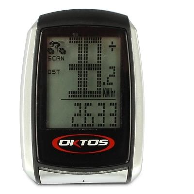 Compteur Oktos sans fil (16 fonctions)