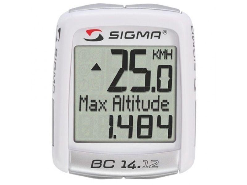 Compteur Sigma BC14.12 Alti Topline Fil