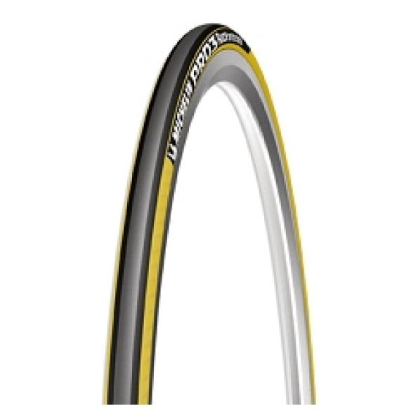 Pneu Michelin Pro 3 Race 700x23 Jaune/Noir