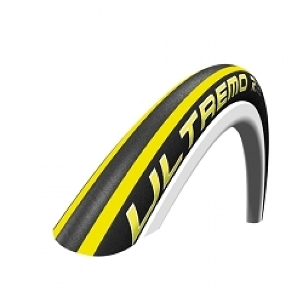 Pneu 700 x 23 Schwalbe Ultremo R HD Ceramic Guard Jaune TS