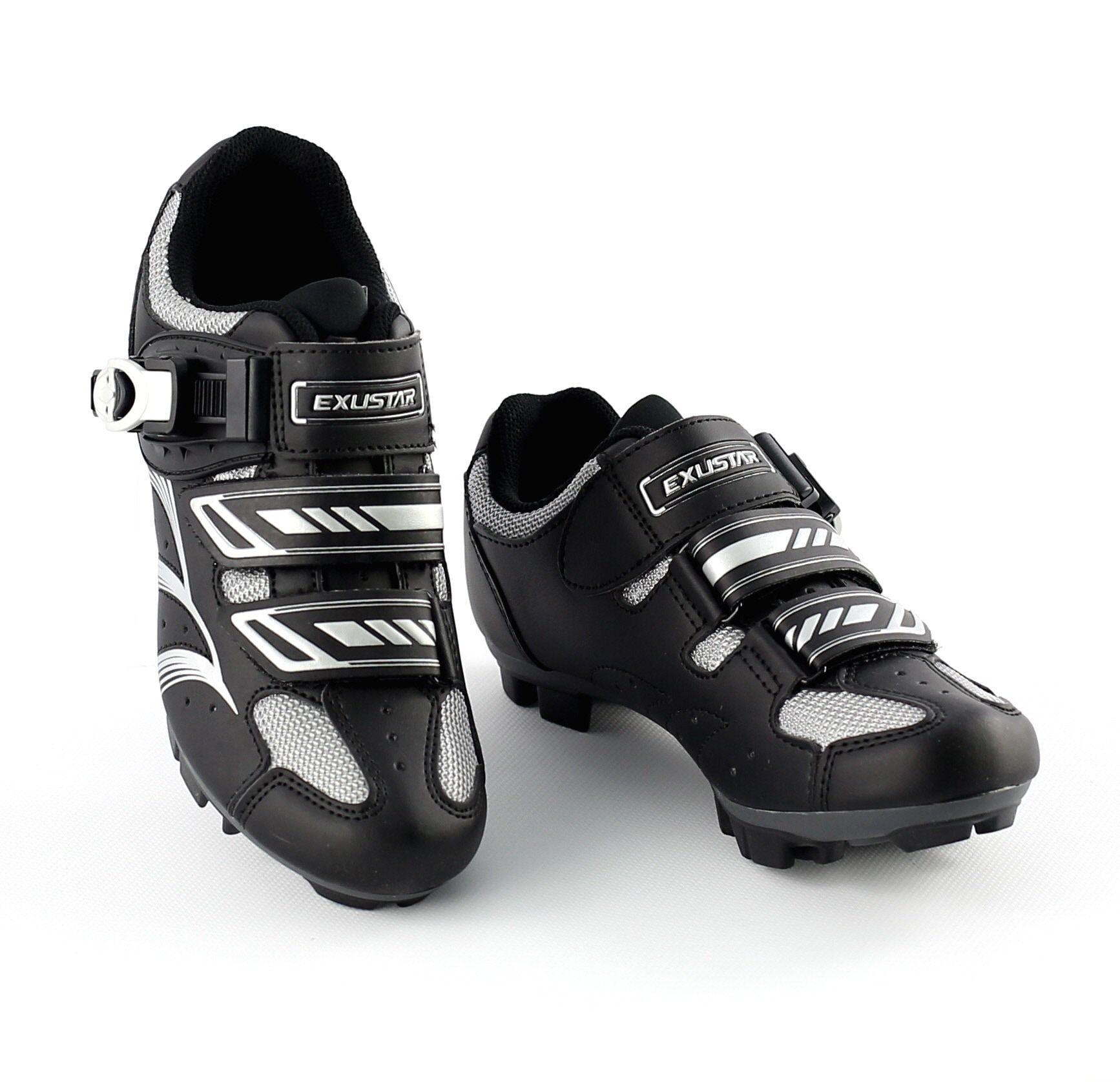 Chaussures VTT Exustar SM346B Microclip Noir - 40